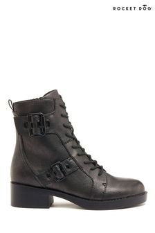 Rocket Dog Grey Pearly Mid Boots