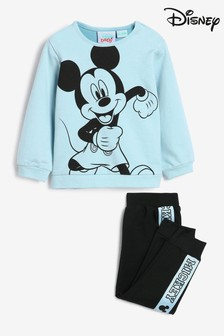 Disney Blue Mickey Mouse Sweatshirt And Joggers Set