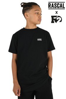 Rascal Boys Black Essential T-Shirt