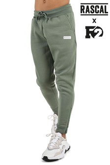 Rascal Boys Green Essential Joggers