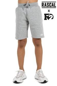 Rascal Boys Grey Essential Shorts