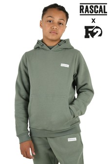 Rascal Boys Green Essential Hoody