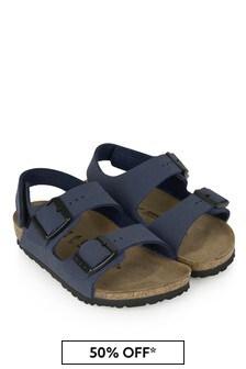 Birkenstock Navy Milano Sandals