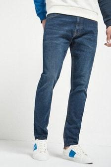 Dark Blue Essential Stretch Jeans