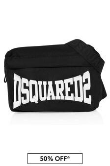 Dsquared2 Kids Boys Black  Bag