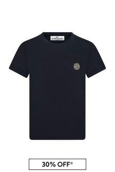 Stone Island Junior Boys Cotton T-Shirt