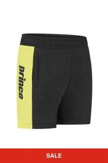 Prince Kids Black Sprint Shorts