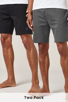 Monochrome Lightweight Shorts Two Pack