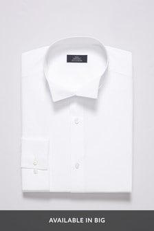 White Wing Collar Shirt