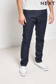 Dark Wash Cotton Rigid Jeans