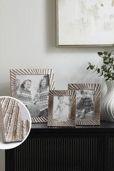 Silver Silver Lloyd Photo Frame