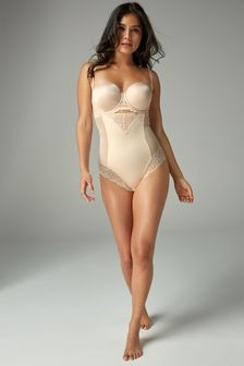 Nude Firm Control Wear Your Own Bra Shaping Body