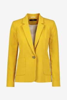Ochre Single Breasted Blazer