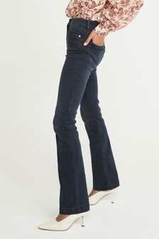 Inky Blue Forever Soft Boot Cut Jeans