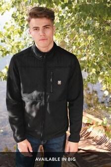 Black Zip Through Fleece