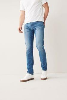 Bright Blue Stretch Jeans