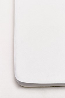 White 2 Pack White Organic Cotton Fitted Sheet