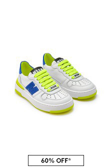 MSGM White Trainers
