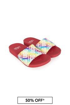UGG Kids Multicolour Sliders