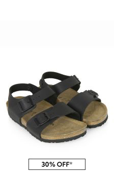 Birkenstock Boys Black New York Sandals