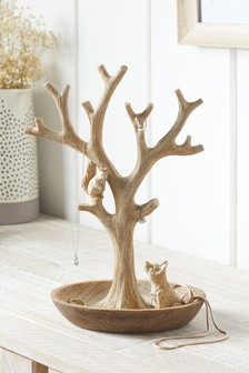 Natural Animal Jewellery Tree