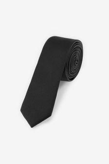 Black Twill Tie