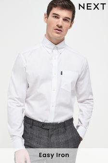 White Stag Tab Easy Iron Button Down Oxford Shirt