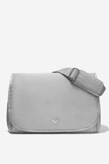 Emporio Armani Grey Baby Changing Bag