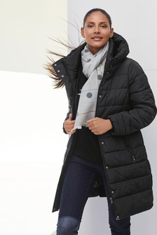 Black Padded Coat
