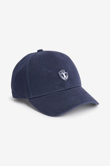 Navy Stag Cap