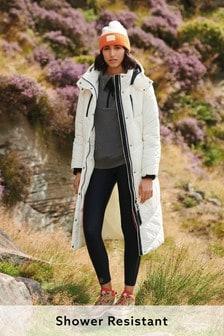 White Long Padded Jacket