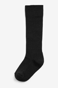 Black Football Socks (Older)