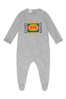 GUCCI Kids Cotton Babygrow