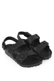Birkenstock Boys Black Milano Sandals
