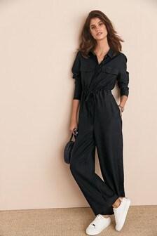 Black Boilersuit