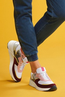 Pink Downtime Trainers