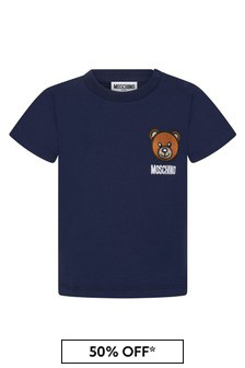 Moschino Kids Baby Cotton T-Shirt