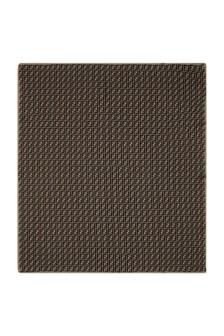 Fendi Kids Baby Brown Cotton And Cashmere Logo Blanket