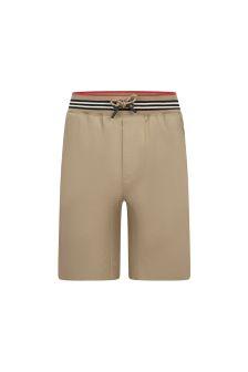 Burberry Kids Boys Cotton Shorts