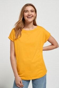 Mango Cap Sleeve T-Shirt
