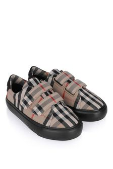 Burberry Kids Vintage Check Mini Markham Trainers