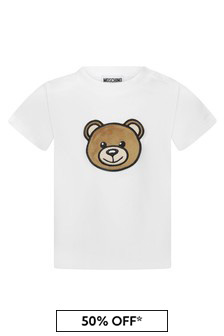 Moschino Kids Baby Cotton T-Shirt
