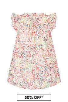 Bonpoint Girls Multicoloured Cotton Dress