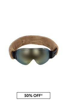 Ai Riders On The Storm Beige Ski Goggles