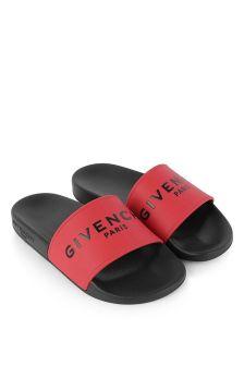 Givenchy 키즈 로고 슬라이더
