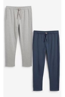 Grey/Navy Panelled Joggers Two Pack