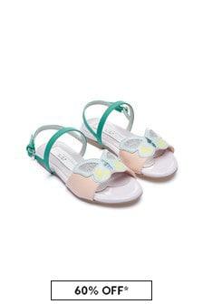 Stella McCartney Kids Girls Purple Sandals
