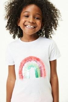 White Rainbow T-Shirt (3-16yrs)