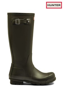 lace up hunter wellies