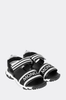 Moncler Enfant Kids Black Sandals